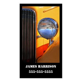 O cartão de visita o mais fino do fairway clássico