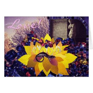 O cartão do amor