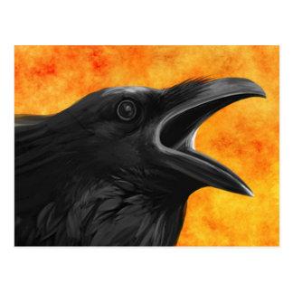 O cartão do corvo