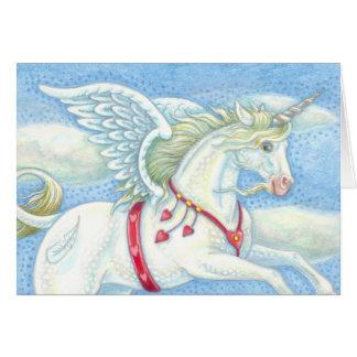 O CARTÃO do DIA DE OS NAMORADOS de Pegasus do