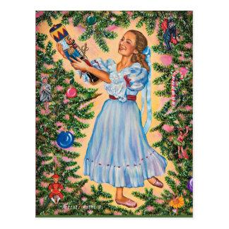 O cartão do feriado do Nutcracker pelo artista