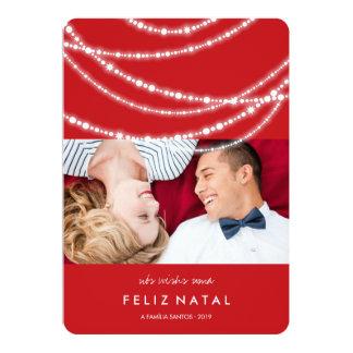O cartão do foto da Dinamarca do moda do à dos Convite 12.7 X 17.78cm