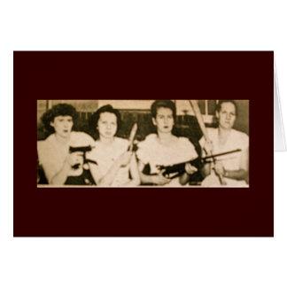 O cartão do Mama da embalagem da pistola