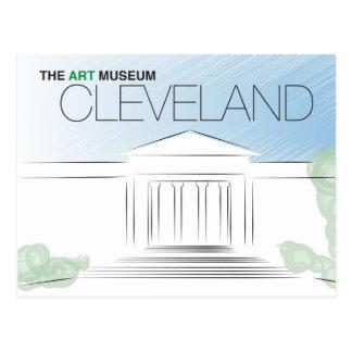 O cartão do museu de arte de Cleveland
