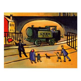 (O cartão do trem)