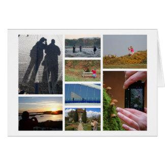 o cartão dos Fotografia-amantes