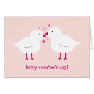 O cartão dos namorados dos Lovebirds