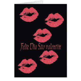 O cartão dos namorados portugueses