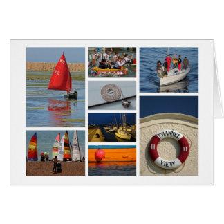 o cartão dos Navigação-amantes