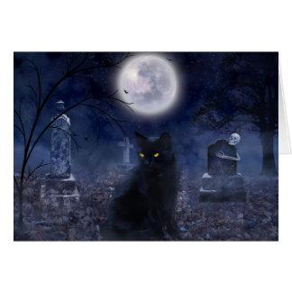 """"""""""" O cartão familiar do Dia das Bruxas"""