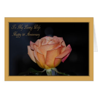 Ø cartão feliz da esposa do aniversário