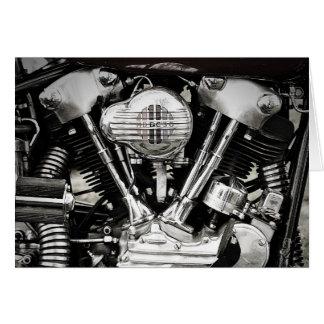 O cartão icónico do motor