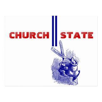 O cartão ø altera - a separação de igreja &
