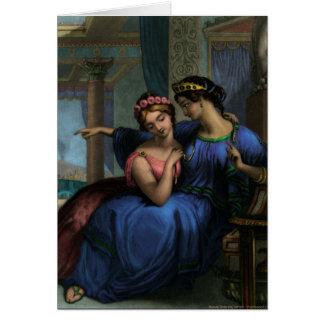 O cartão romano das irmãs