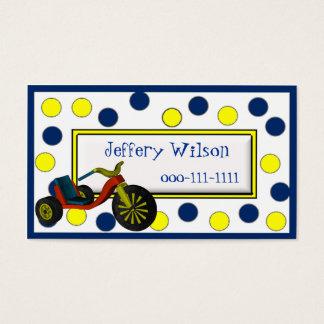 O cartão telefónico das crianças da roda grande