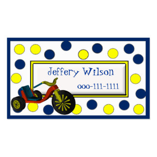 O cartão telefónico das crianças da roda grande cartão de visita