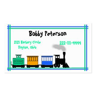 O cartão telefónico do menino colorido cartão de visita