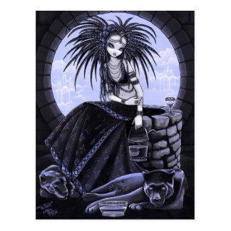 O cartão tribal bom da pantera da água da fusão