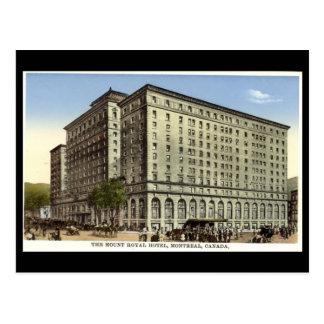 O cartão velho, monta o hotel real, Montreal