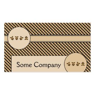 O Cartwheel carrega o cartão de visita das amostra