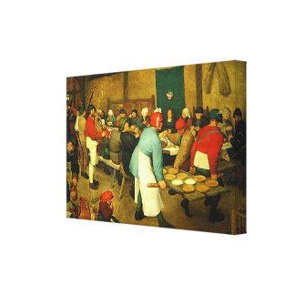 O casamento do camponês de Pieter Bruegel (1568)