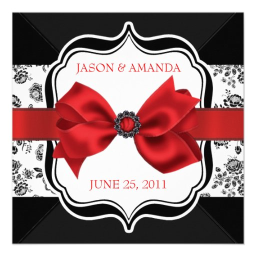 O casamento tema damasco floral convida com arco convites personalizado