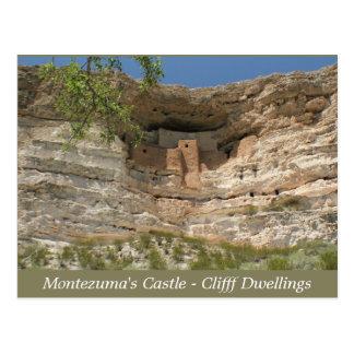 O castelo de Montezuma arruina o cartão da arizona