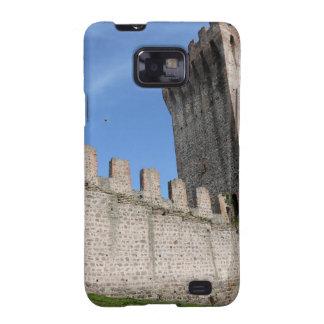 o castelo medieval knights o tijolo antigo velho capinhas personalizadas samsung galaxy SII