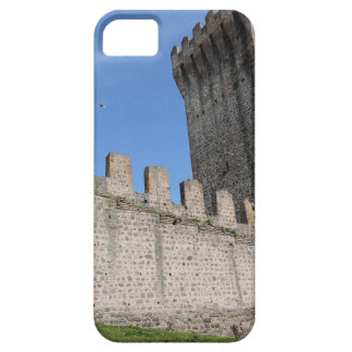 o castelo medieval knights o tijolo antigo velho capa para iPhone 5