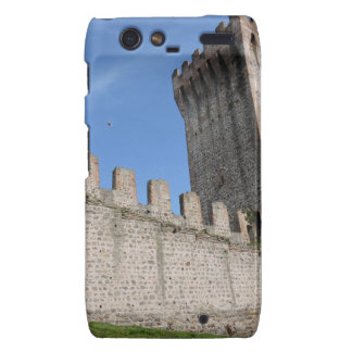 o castelo medieval knights o tijolo antigo velho capa droid RAZR