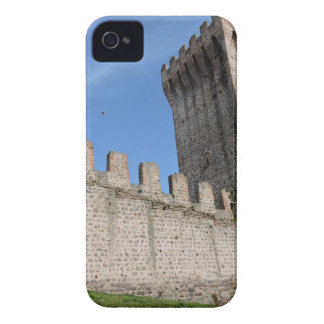 o castelo medieval knights o tijolo antigo velho capas para iPhone 4 Case-Mate