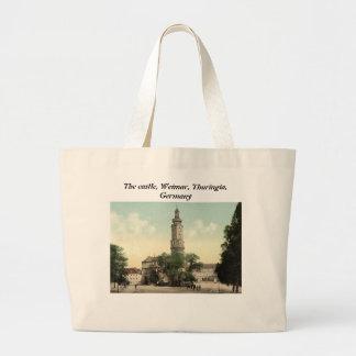 O castelo, Weimar, Thuringia, Alemanha Bolsas Para Compras