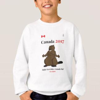 O castor de Canadá 150 em 2017 faz Agasalho