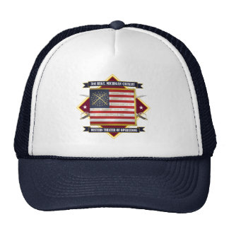 ó Cavalaria de Michigan Boné