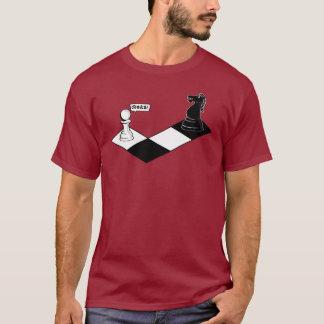 O cavaleiro toma o penhor camiseta