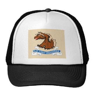 O cavalo claro Dragoons t-shirt da bandeira Boné