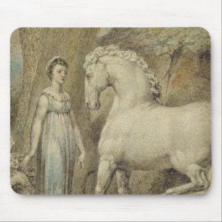 """O cavalo, de """"das baladas William Hayley"""", c.1805 Mouse Pad"""