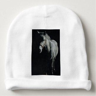 O cavalo de prata nas sombras gorro para bebê