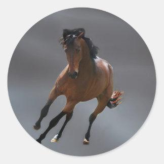 O cavalo do vaqueiro chamou Riboking Adesivo