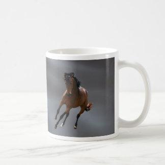 O cavalo do vaqueiro chamou Riboking Caneca