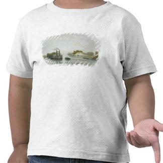 O Caverna-em-Rock, vista no Ohio, chapeia 7 de Camiseta