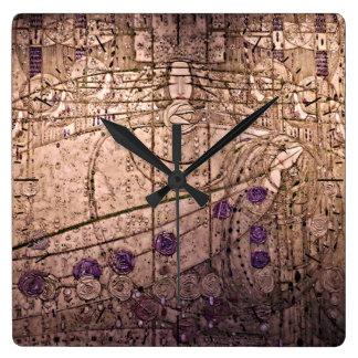 O céltico inspirou o relógio de Nouveau da arte
