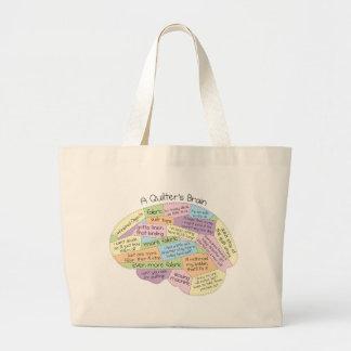 O cérebro de Quilter Sacola Tote Jumbo