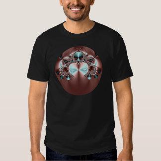 O cetim cobre o Tshirt adulto