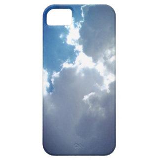 O céu da natureza nubla-se a caixa do iPhone/iPad Capas Para iPhone 5