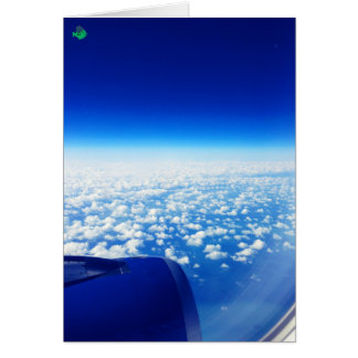 O céu de CRAZYFISH nubla-se a foto Cartoes