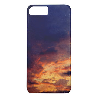 O céu é a capa de telefone do limite