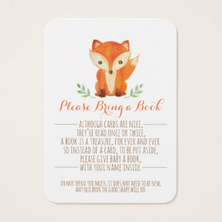 O chá de fraldas da floresta traz um cartão de