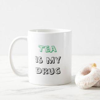 O chá é minha droga - caneca 325ml