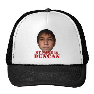 O chapéu 2010, meu nome é Duncan Boné